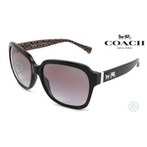 Lentes Coach Hc8185 -526111 Black - Grey Gradient Dama Gafas