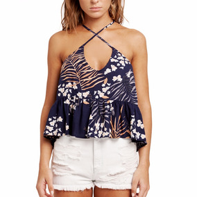 Musculosa Rusty Orient Cami Top - Mujer