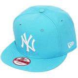 Boné New Era Aba Reta Snapback Mlb Ny Yankees Color Azul Cla