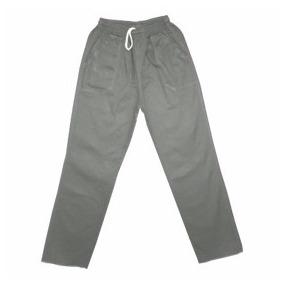 Calça Em Brim Uniforme Para Uso Diversos Cinza Ou Azul