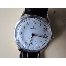 Relógio Zenith Militar Antigo Corda Manual
