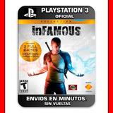 Infamous Collection Ps3 Digital Nº1 En Ventas En Argentina