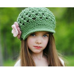 Gorros Boinas Tejidos A Crochet Para Bebes Nenas Y Adolesce