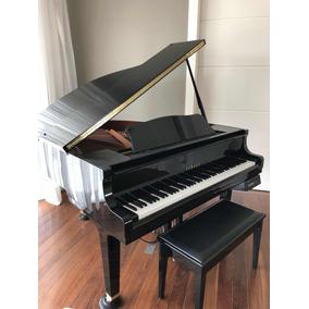 piano yamaha cauda pianos com cauda no mercado livre brasil. Black Bedroom Furniture Sets. Home Design Ideas