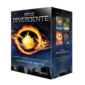 Box Coleção Série Divergente - 4 Livros - Veronica Roth