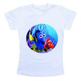 Camiseta Infantil Procurando Nemo Hw1687