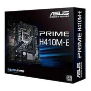 Motherboard Asus Prime H410m-e Intel 10ma Lga 1200 Ddr4 M.2