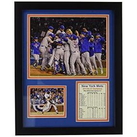 2015new York Mets Nlcs Champions 279x 356cm Foto Enmarcad