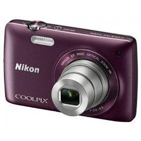 Câmera Digital Nikon Coolpix, 20.1 Mp, Touch Ameixa - S4400