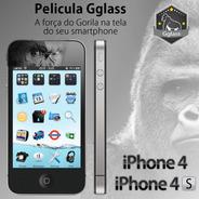 Película De Vidro Para iPhone 4 E 4s Gglass