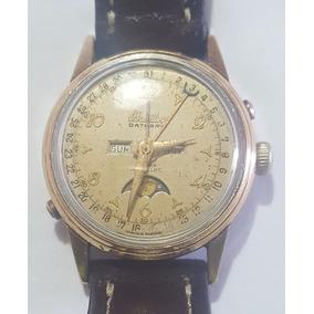 Reloj Breitling Datora Fase Lunar De Colección