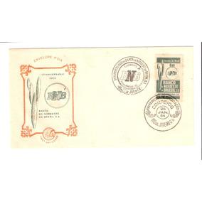 Lindo Envelope Com Selo - 10 Anos Do Banco Do Nordeste !!!
