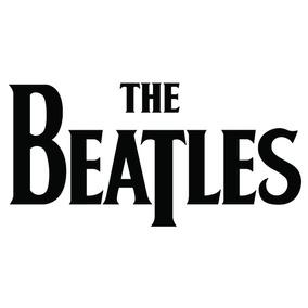 Adesivo The Beatles Rock Musica 6x12 3 Un