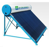 Termotanque Solar Atmosférico Ecologica Eco160-16 Santa Fe