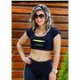 Garota Tropical Fitness Blusa Regata Cropped Super Promoção