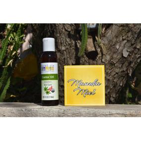 Aceite De Ricino Orgánico Prensado En Frió 4 Oz Dhl Gratis