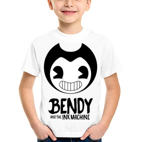 Bendy And The Ink Machine Remeras Blancas Spum