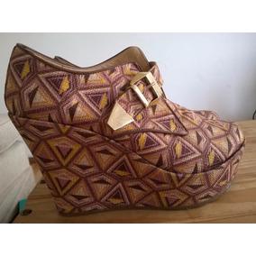 Zapatos Botineta Con Plataforma Pepe Cantero