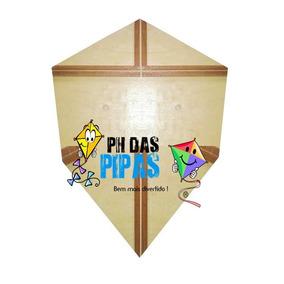 Forma Gabarito Profissional Para Fazer Pipa Carioca 1,05 Cm