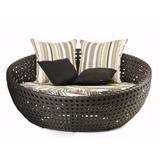Poltrona Sofa Essencial Bola Em Fibra Sintetica E Aluminio