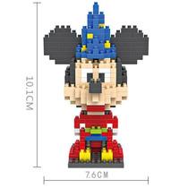 Nuevo Mini Bloques Mickey Mouse Block Nano Disney Mago Fanta