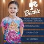 Franelitas Camisa Barbie Cotillon Fiesta Invitacion