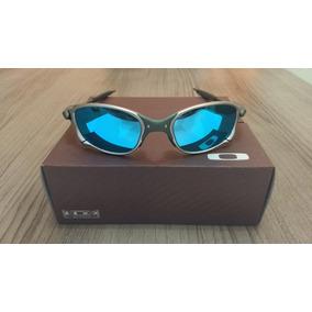 Oculos Double Xx Tio2 Blue Ice - 12x Sem Juros