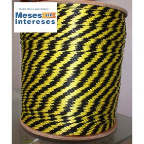 Cuerda Polipropileno Tipo Seda 10mm 10 Kilos Con Carrete