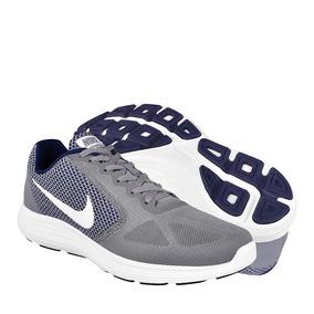 Tenis Nike Para Correr Textil Grey White 819300019
