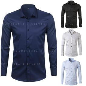 Camisa Social Slim Fit - Várias - Comprando 2 Frete Grátis