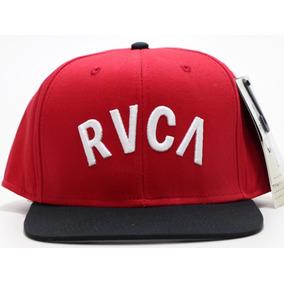 Gorra Rvca M7ahwbls Rojo Con Negro Snapback