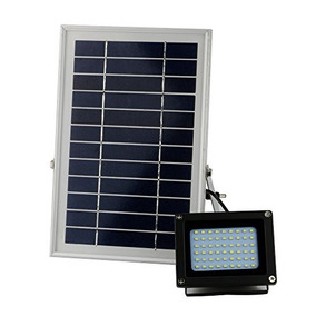 Lampara Solar Para Exteriores 54 Leds 400 Lumens