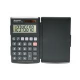 Calculadora Básica Solar Sharp 8 Dígitos El376sbk
