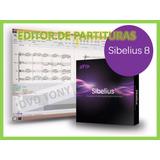 Editor De Partituras Sibelius 8 Español Pc En Fisico