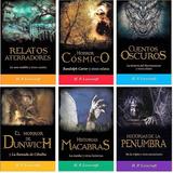 H P Lovecraft Paquete 6 Libros Llamada De Cthulhu