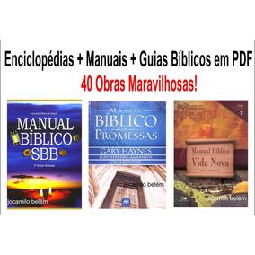 Guias + Manuais + Enciclopédias Bíblicas (pdf) - 40 Obras!