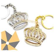 30 Llaveros Corona Dorada Real Souvenir Nacimientos 15