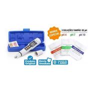 Phmetro Medidor De Ph Portátil + Brinde 3 Calibradores C/ Nf
