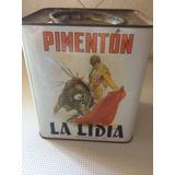 Lata Vacía Pimentón La Lidia