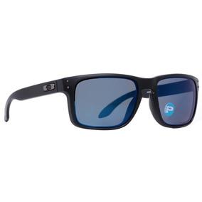 Gafas Oakley Holbrook - Matte Black/blue Polarized