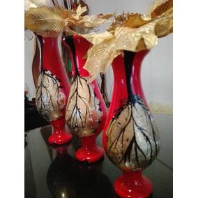 juego de 3 jarrones elegantes decorativos - Jarrones Decorativos
