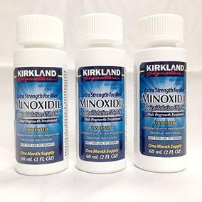 Kirkland Minoxidil 5% Rebrote De Cabello Genérico De Extra