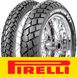 Kit Cubiertas Pirelli Mt 90 Scorpion Xtz 125 Wagner Motos!!