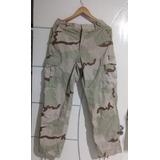 Calça Militar Americana Deserto Tricolor