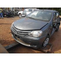 Sucata Toyota Etios Hb 1.3 X Para Venda De Peças Usadas