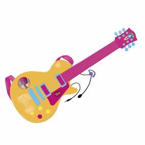 Trolls Guitarra Electrica Con Microfono Musical Educando