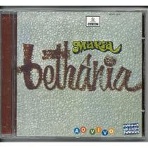 Cd Maria Bethania - Ao Vivo 1970 Novo/original Raro