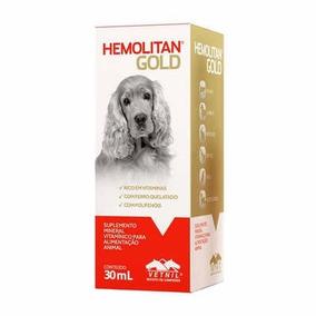Hemolitan Gold - Cães E Gatos (e Outros) 30ml (venc Jan/19)