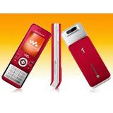 Sonyericsson W580 Vermelho Walkman Slide 2mp Fm- De Vitrine