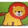 Figuras Safari En Anime. Fiesta Baby Shower Decoración